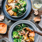 Harissa Roast Potatoes & Harissa Bowl