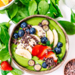 Mango & Spinach Smoothie Bowl