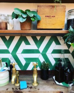 Papermill Studio kitchen tiles