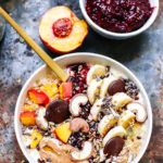 Oat & Millet flake coconut porridge