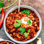 Healthy Twists Vegan Chilli